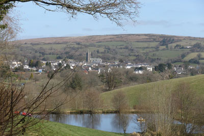 Looking upon Moretonhampstead